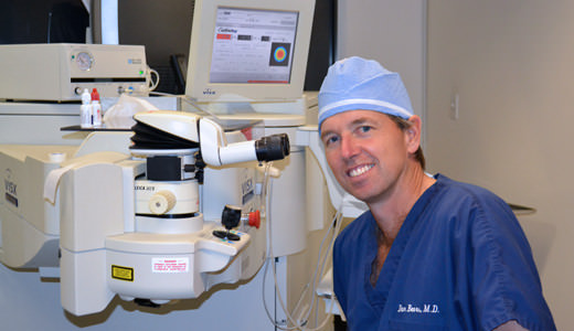 Dr. Beers in LASIK Suite