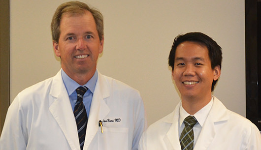 Our Doctors Standing Inside Our Mountain View Office